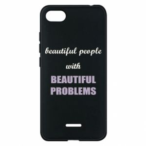Etui na Xiaomi Redmi 6A Beautiful people with beauiful problems
