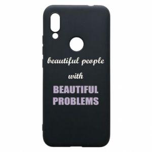 Etui na Xiaomi Redmi 7 Beautiful people with beauiful problems