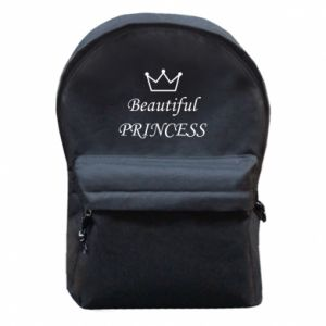Backpack with front pocket Beautiful PRINCESS