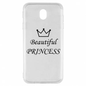 Samsung J7 2017 Case Beautiful PRINCESS