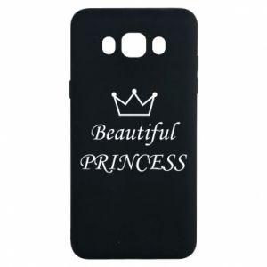 Samsung J7 2016 Case Beautiful PRINCESS