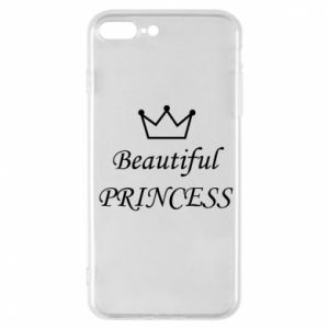 Phone case for iPhone 7 Plus Beautiful PRINCESS