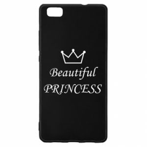 Huawei P8 Lite Case Beautiful PRINCESS