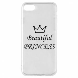 Phone case for iPhone 8 Beautiful PRINCESS