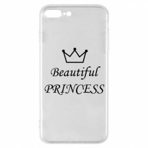 Phone case for iPhone 8 Plus Beautiful PRINCESS