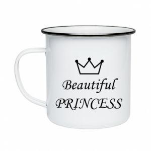 Kubek emaliowany Beautiful PRINCESS