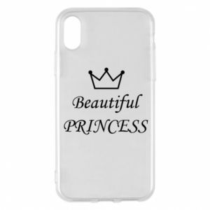 Phone case for iPhone X/Xs Beautiful PRINCESS