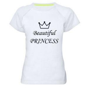 Koszulka sportowa damska Beautiful PRINCESS