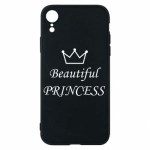 Phone case for iPhone XR Beautiful PRINCESS