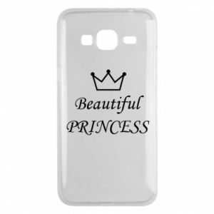 Phone case for Samsung J3 2016 Beautiful PRINCESS
