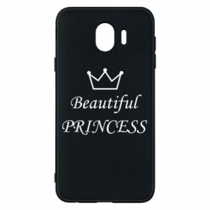 Phone case for Samsung J4 Beautiful PRINCESS