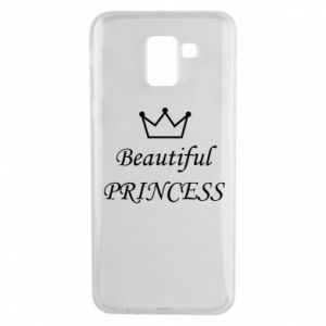 Phone case for Samsung J6 Beautiful PRINCESS