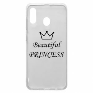 Phone case for Samsung A20 Beautiful PRINCESS