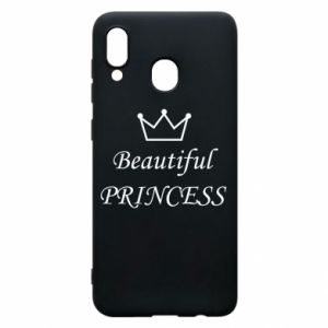 Phone case for Samsung A30 Beautiful PRINCESS