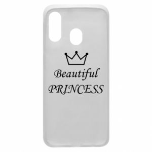 Phone case for Samsung A40 Beautiful PRINCESS