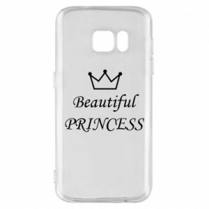 Phone case for Samsung S7 Beautiful PRINCESS