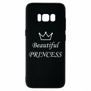 Phone case for Samsung S8 Beautiful PRINCESS