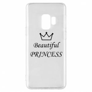 Phone case for Samsung S9 Beautiful PRINCESS