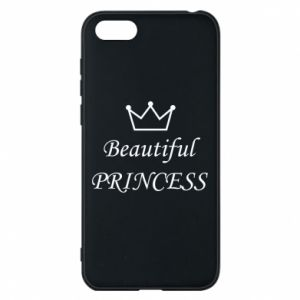Phone case for Huawei Y5 2018 Beautiful PRINCESS