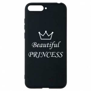 Phone case for Huawei Y6 2018 Beautiful PRINCESS