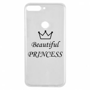 Phone case for Huawei Y7 Prime 2018 Beautiful PRINCESS