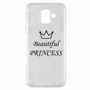 Phone case for Samsung A6 2018 Beautiful PRINCESS