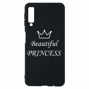 Phone case for Samsung A7 2018 Beautiful PRINCESS