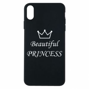 Phone case for iPhone Xs Max Beautiful PRINCESS