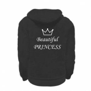 Kid's zipped hoodie Beautiful PRINCESS