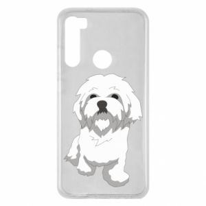 Etui na Xiaomi Redmi Note 8 Beautiful white dog