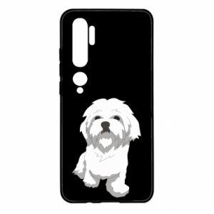 Etui na Xiaomi Mi Note 10 Beautiful white dog