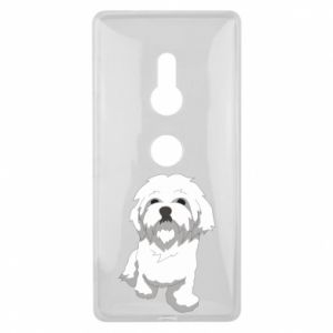 Etui na Sony Xperia XZ2 Beautiful white dog