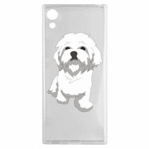 Etui na Sony Xperia XA1 Beautiful white dog