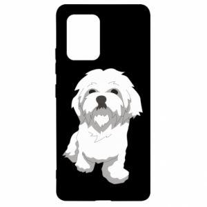 Etui na Samsung S10 Lite Beautiful white dog