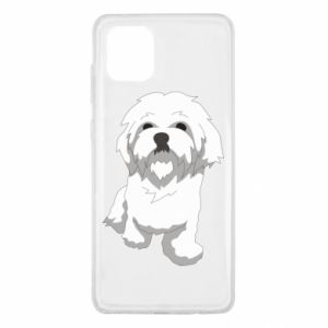 Etui na Samsung Note 10 Lite Beautiful white dog