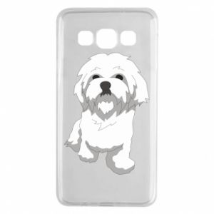 Etui na Samsung A3 2015 Beautiful white dog