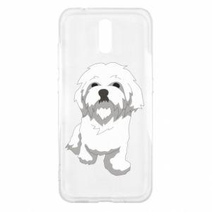 Etui na Nokia 2.3 Beautiful white dog