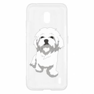 Etui na Nokia 2.2 Beautiful white dog