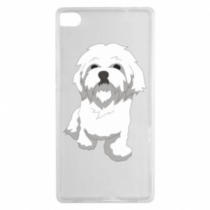 Etui na Huawei P8 Beautiful white dog