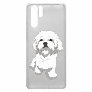 Etui na Huawei P30 Pro Beautiful white dog