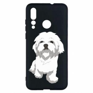 Etui na Huawei Nova 4 Beautiful white dog