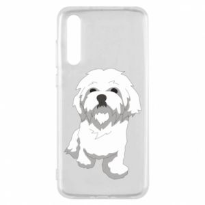 Etui na Huawei P20 Pro Beautiful white dog