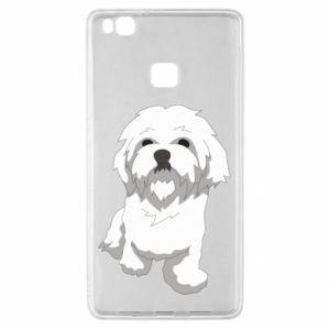 Etui na Huawei P9 Lite Beautiful white dog