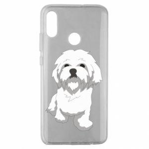 Etui na Huawei Honor 10 Lite Beautiful white dog