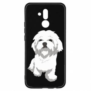 Etui na Huawei Mate 20 Lite Beautiful white dog