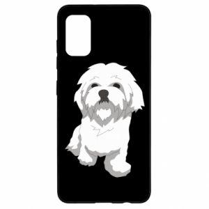 Etui na Samsung A41 Beautiful white dog