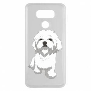 Etui na LG G6 Beautiful white dog