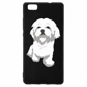 Etui na Huawei P 8 Lite Beautiful white dog