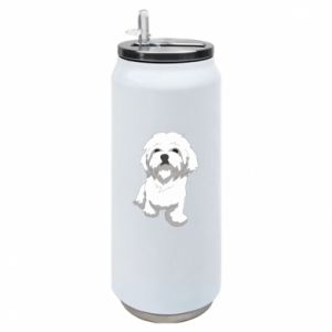 Puszka termiczna Beautiful white dog