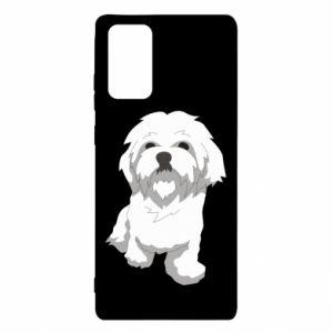Etui na Samsung Note 20 Beautiful white dog